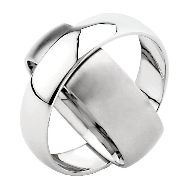 Stainless Steel 6 mm & 8 mm Rotating Band Size 5.5