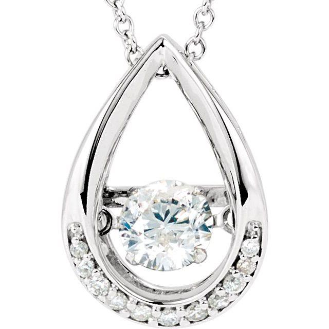 14K White 1/8 CTW Diamond Mystara® 18