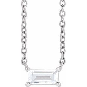 "14K Rose 1/3 CT Lab-Grown Diamond 16-18"" Necklace"
