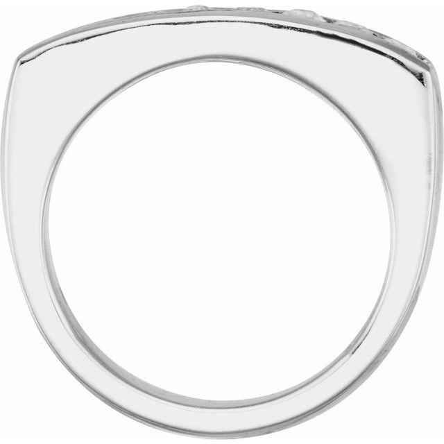 14K White 1 3/4 CTW Lab-Grown Diamond Ring