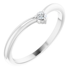 Stackable V Ring