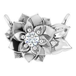 Flower Necklace or Center