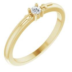 Cross Promise Ring