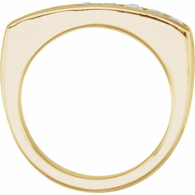 14K Yellow 1 3/4 CTW Lab-Grown Diamond Ring