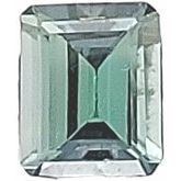 Emerald/Octagon Genuine Bicolor Tanzanite (Notable Gems®)