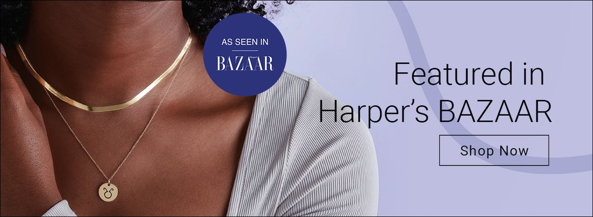 Featured in Harper's BAZAAR