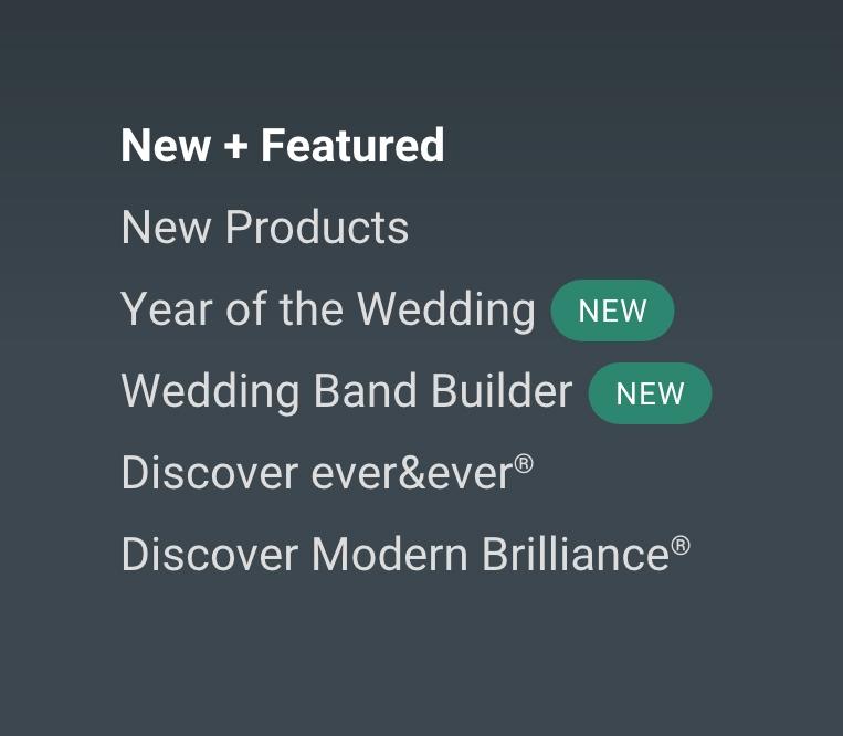 shop by feature menu