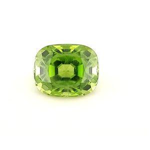 Peridot Cushion 4.93 carat Green Photo