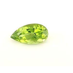 Peridot Pear 3.64 carat Green Photo