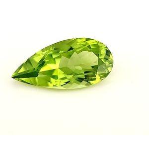 Peridot Pear 2.93 carat Green Photo