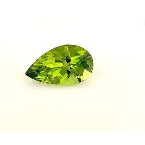 Peridot Pear 5.31 carat Green Photo