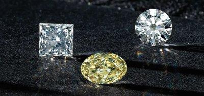 Diamonds with Grading Report