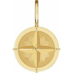 Compass Charm/Pendant
