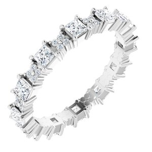 Floral Eternity Band