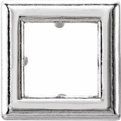 Princess/Square Back-Set Solitaire Pendant Slide
