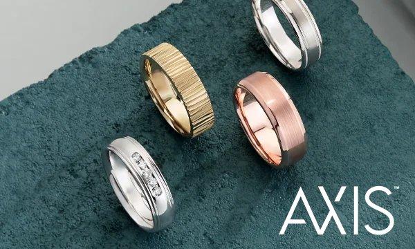 AXIS wedding bands